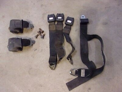 1973 1974 Mopar B Body Dodge Charger Plymouth Road Runner Back Seat Seat Belts