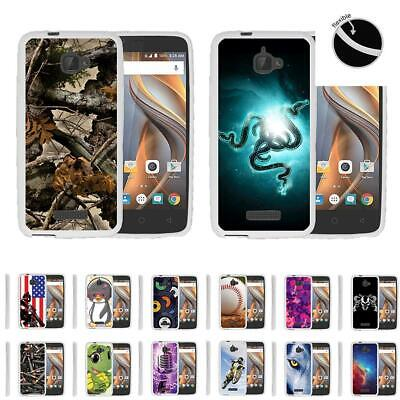 For Coolpad Catalyst Slim Fitted Cover Bumper Clear Flexible Armor TPU Case