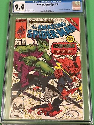 Amazing Spider-Man #312 (1989) Todd McFarlane Cover CGC 9.4 White Pages