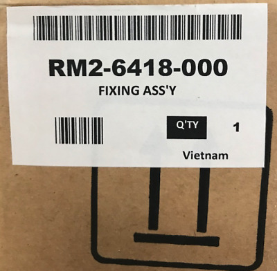 New/OEM HP RM2-6418-000 Fuser Assembly (for Duplex models only)