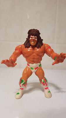 *RARE WWF Hasbro Wrestling Action Figure Ultimate Warrior Vintage WWE WCW*