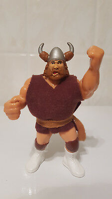 *RARE WWF Hasbro Wrestling Action Figure The Berzerker Vintage WWE WCW*