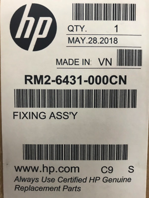 New/OEM HP RM2-6431-000 Fuser Assembly (for Simplex models only)