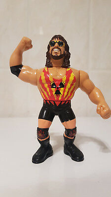 *RARE WWF Hasbro Wrestling Action Figure Adam Bomb Series 11 Vintage WWE WCW*
