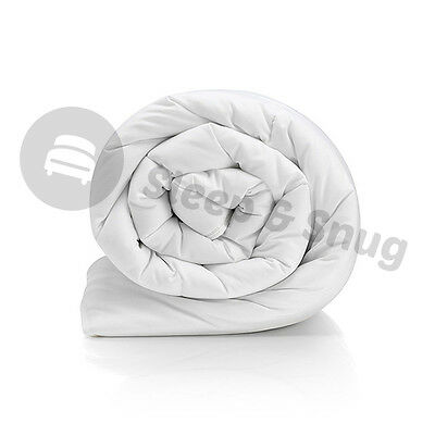 Hollowfibre Single Double King Superking Size All Tog Quilt Duvet