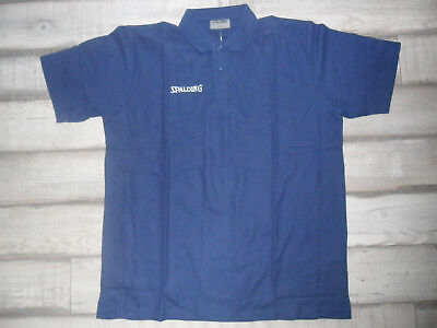 Spalding Polo Shirt Marine XXL! *NEU* Top