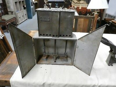 Antique Perkins Junior Electric Carbon Arc Light- Stage Theater- late 1800's