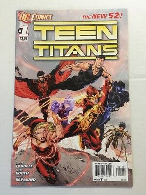 Teen Titans #1 1st Print The New 52 DC Comic