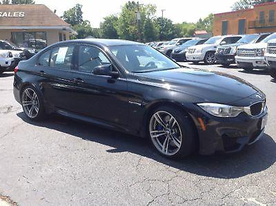 BMW M3 M3 sedan loaded 2015 M3 Black on tan, loaded! Carbon fiber roof