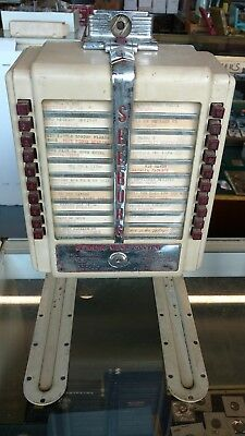 Seeburg Music System Wall-O-Matic Wireless Selector Jukebox W1-L56 *untested*