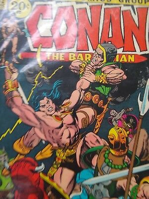 Conan The Barbarian, #12 Dec 1971, The Most Savage Hero Of All, Good  Condition