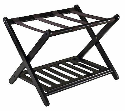 Luggage Rack Shelf Shoes Storage Folding Stand Home Hotel Closet Travel Portable