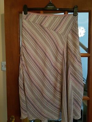 Ladies Mothercare Lined Maternity Skirt, Size 12, Very Good Condition