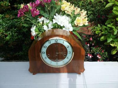 Superb And Rare Smiths Westminster Chiming Mantel Clock. 1956. Fully Overhauled.