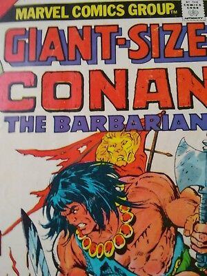Conan Comic Vol 1, #1 Sept 1974: Giant-Size Conan The Barbarian, Good Condition