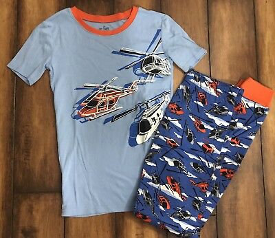 Children's Place Helicopter Pajamas Boy Size 14
