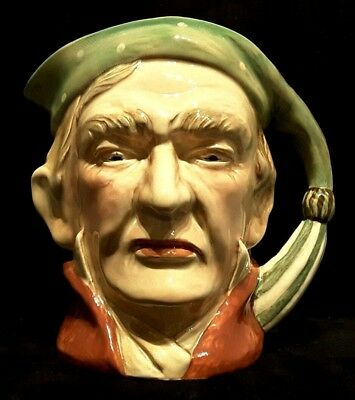 """Beswick Ware~England~Scrooge~#372~Vintage~Character Jug~6.75""""H~Collectible~Gift!"""