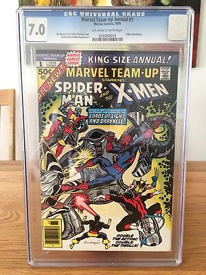 Marvel King Size Annual Marvel Team Up 1 Cgc