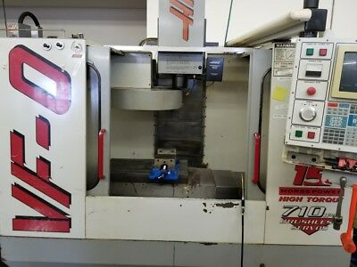 Used Haas VF-0 CNC Vertical Machining Center Mill 20x16 Machine 4th Ready CT 97