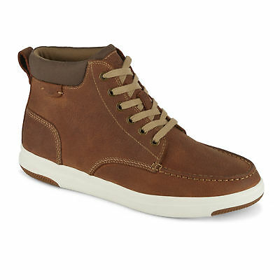 Dockers Mens Gaines Genuine Leather Casual High Top Lace-up Sneaker Shoe