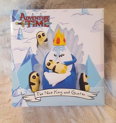 Adventure Time The Nice King and Gunter Figurine Loot Crate Exclusive Unopened