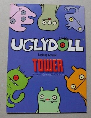 HALLOWEEN  Ugly Doll TOWER RECORDS Monsters  4x6 chrome 2003
