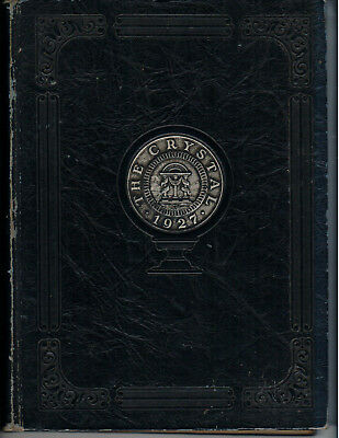 Athens, Ga- State Normal School's 1927 Annual year book The Crystal