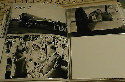 Lot of 3 4x6 B & W Vintage CLEVELAND Air Show & PLANE Photographs #158 DOOLITTLE