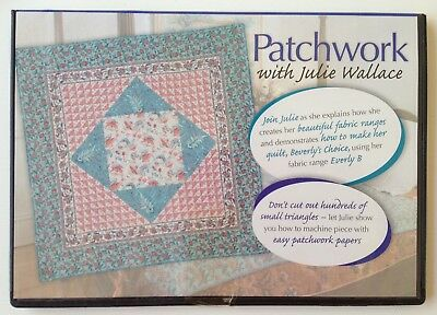 DVD - Patchwork with Julie Wallace - QUILTING