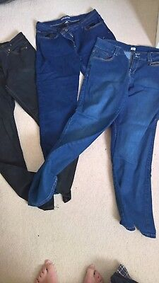 Bundle of Womens size 16 Jeans