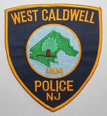 West Caldwell NJ Police patch