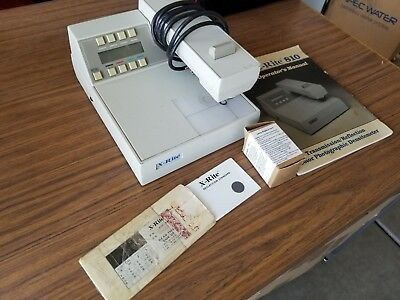 X RITE 830 Transmission / Reflection Densitometer in good working condition
