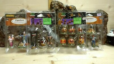 Lemax spooky town and Fall Figures