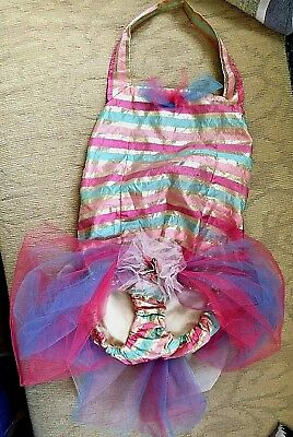 Vintage Child's Dance Costume, Ballet, Tutu Halloween Theater Girl Stage Play