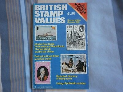BRITISH STAMP VALUES Summer 1980 Great Britain Channel Islands Isle of Man