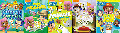 BUBBLE GUPPIES NICK JR Series DVD Set Complete Bundle Season