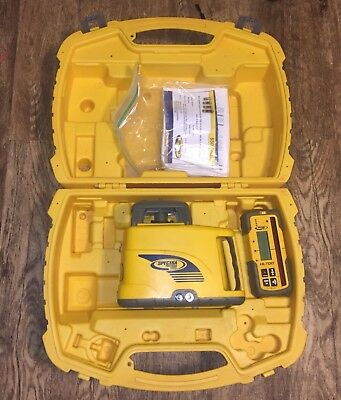 Trimble Spectra Precision LL400 Rotary Laser w/ HL700 Receiver W/Rod Clamp