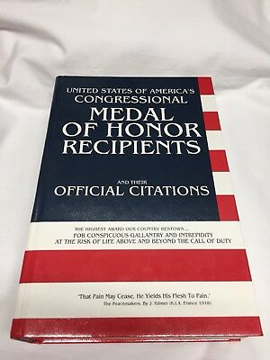 Medal of Honor Recipients book WWI WWII USMC Marines Army Navy Vietnam Air Force