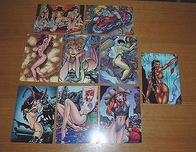 Women Of Wildstorm Pin-Up Postcard Collection