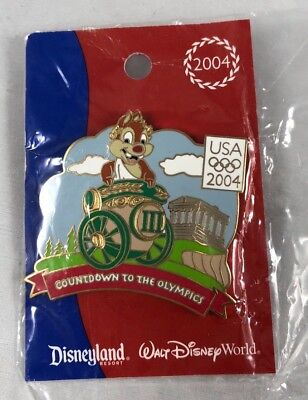 NEW Countdown to the Olympics III Dale Chariot  Disneyland Disney World Pin LE