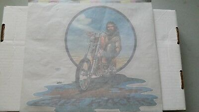 Rare David Mann Easyriders Magazine And Harley Davidson Wings T Shirt Transfers