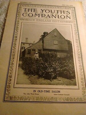 Youth's Companion Newspaper September 4 1913, In Old-Time Salem