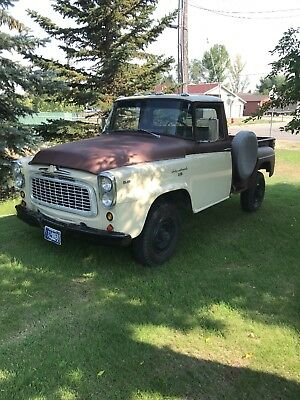 1961 International Harvester Other  1961 international pickup b120 4x4 step side custom