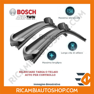 Kit Spazzole Tergi Anteriore Bosch Vw Caddy 4 Sw 1.4 Tgi Cng Kw:81 2015> 3397007