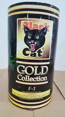 Firework label Black Cat Gold collection F-1