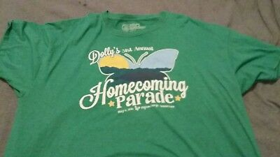 Dolly Parton Homecoming Parade May 6, 2016 T-Shirt 2XL Rare!