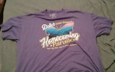 Dolly Parton Homecoming Parade May 5, 2017, T-Shirt 2XL Rare!