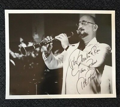 PETE FOUNTAIN New Orleans jazz clarinet legend SIGNED autographed 8 x 10 photo