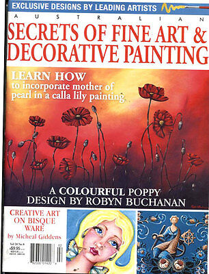 Magazine -   Fine Art & Decorative Painting Vol 20 No 8
