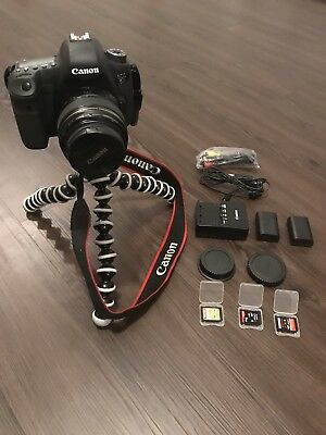 Canon EOS 6D Digital Camera - Black plus Lens, Tripod, Memory Cards, Battery